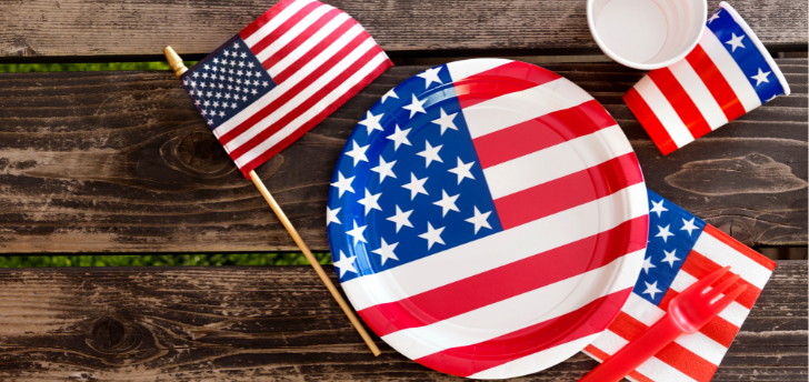 Attend a Patriotic Luncheon