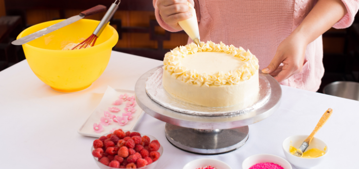 Try Cake Decorating