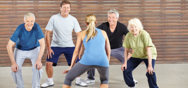 Try a New Fitness Class