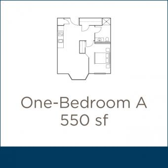 Coventry Place Studio 1BR A