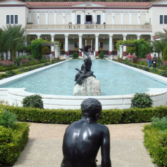 Daily life: Visit the Getty Villa