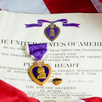 Daily life: Observe National Purple Heart Day