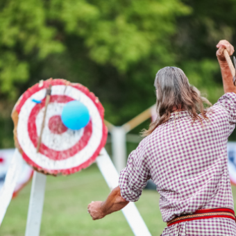 Daily life: Try Axe Throwing