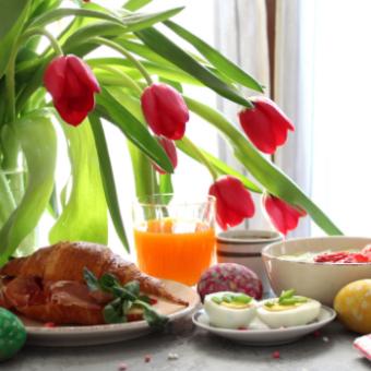 Daily life: Enjoy an Easter Brunch