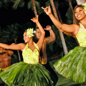 Daily life: Attend a Summer Luau
