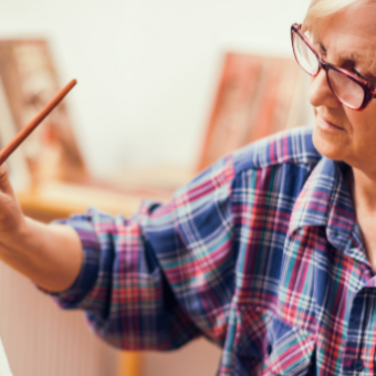 Daily life: Paint a Masterpiece